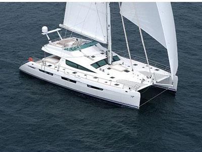 Used Sail Catamaran for Sale 2006 Privilege 74