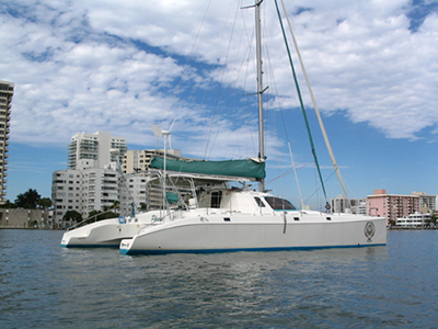 Catamarans PHOENIX, Manufacturer: OCEAN CATAMARANS, Model Year: 2001, Length: 49ft, Model: Ocean Cat 49, Condition: Used, Listing Status: SOLD, Price: USD 325000