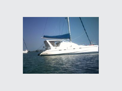 Catamarans LUNA SEA, Manufacturer: ROBERTSON & CAINE, Model Year: 2002, Length: 42ft, Model: Leopard 42, Condition: Used, Listing Status: SOLD, Price: USD 259000