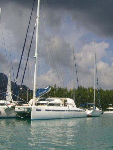 Catamarans DREAM MALDIVES, Manufacturer: NAUTITECH, Model Year: 1996, Length: 82ft, Model: Nautitech 82, Condition: USED, Listing Status: Coming Soon, Price: USD 499000