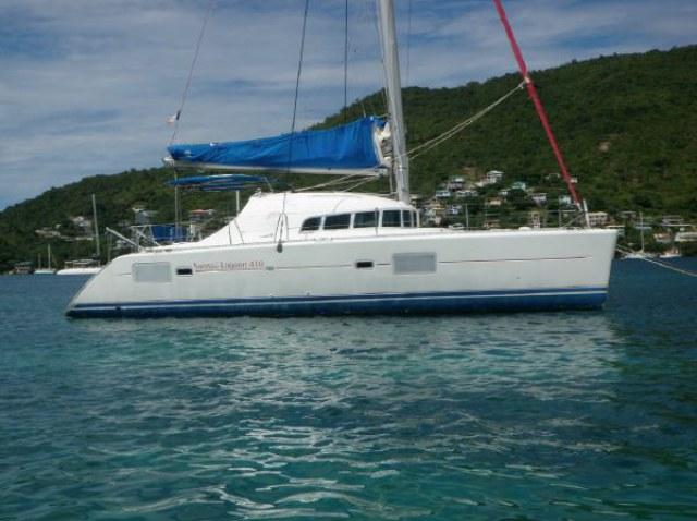 Preowned Sail Catamarans for Sale 2006 Lagoon 410