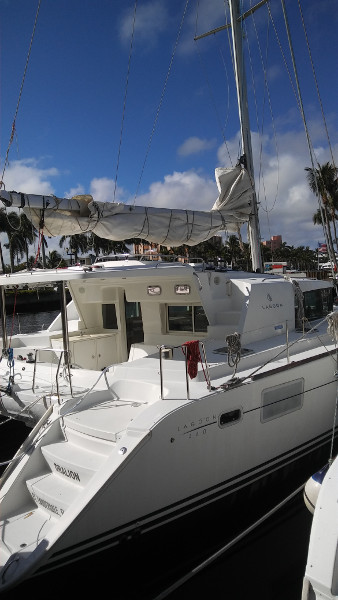 SOLD Lagoon 440  in Fort Lauderdale Florida (FL)  DRALION Vessel Summary Preowned Sail