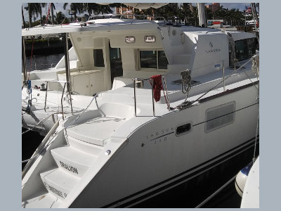 SOLD Lagoon 440  in Fort Lauderdale Florida (FL)  DRALION Thumbnail for Listing Preowned Sail