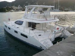 Preowned Power Catamarans for Sale 2008 Leopard 47
