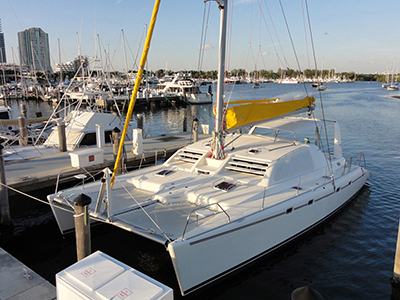 Catamarans AVENTURA, Manufacturer: ROBERTSON & CAINE, Model Year: 2004, Length: 47ft, Model: Leopard 47, Condition: USED, Listing Status: Under Negotiation, Price: USD 379000