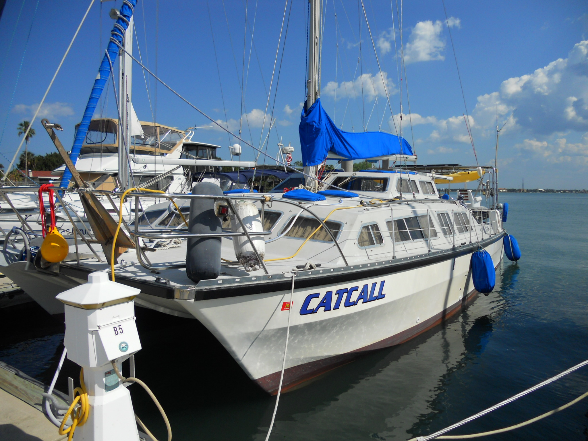 Preowned Sail Catamarans for Sale 1983 Catalac 12m