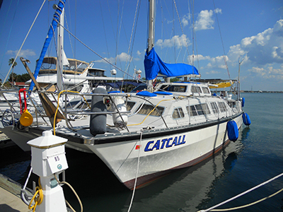 SOLD Catalac 12m  in St. Augustine Florida (FL)  CATCALL  Preowned Sail