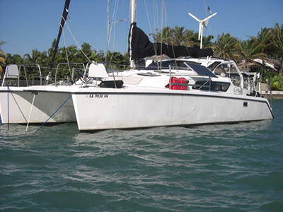 Catamarans GRACE, Manufacturer: PERFORMANCE CRUISING, Model Year: 2002, Length: 34ft, Model: Gemini 105Mc, Condition: Used, Listing Status: SOLD, Price: USD 125000