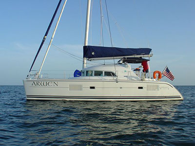 Catamarans ARWEN, Manufacturer: LAGOON, Model Year: 2005, Length: 38ft, Model: Lagoon 380 S2, Condition: USED, Listing Status: SOLD, Price: USD 287500