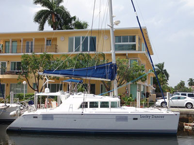 Catamarans LUCKY DANCER, Manufacturer: LAGOON, Model Year: 2005, Length: 44ft, Model: Lagoon 440, Condition: Used, Listing Status: SOLD, Price: USD 444000