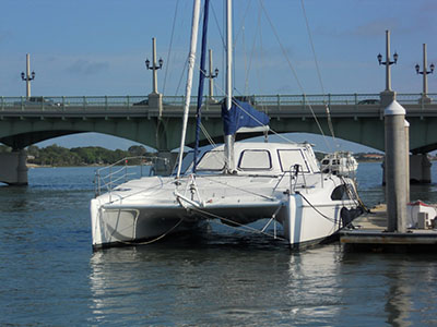 Catamarans COOL RUNNINGS, Manufacturer: SEAWIND CATAMARANS, Model Year: 2005, Length: 38ft, Model: Seawind 1160, Condition: USED, Listing Status: Under Contract, Price: USD 349000