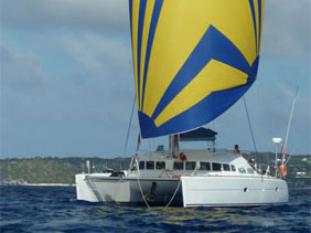 Preowned Sail Catamarans for Sale 1999 Lagoon 410