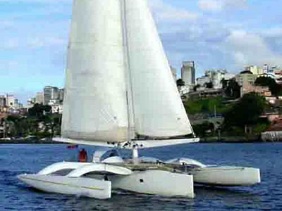 Catamarans NO NAME, Manufacturer: POLLEN, Model Year: 1991, Length: 50ft, Model: Pollen 50, Condition: USED, Listing Status: Trimaran for Sale, Price: EURO 550000