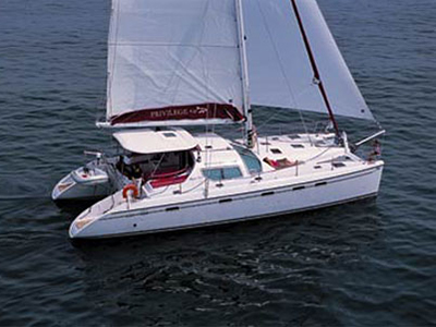 Catamarans NAEJ, Manufacturer: ALLIAURA MARINE, Model Year: 2006, Length: 49ft, Model: Privilege 495, Condition: Used, Listing Status: SOLD, Price: USD 620000