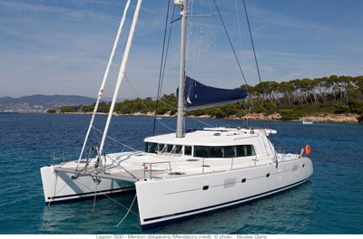 Used Sail Catamaran for Sale 2010 Lagoon 500