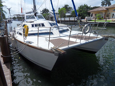 Catamarans SWEET ESCAPE, Manufacturer: SOLARIS, Model Year: 1987, Length: 40ft, Model: Sunstream, Condition: Used, Listing Status: SOLD, Price: USD 135000