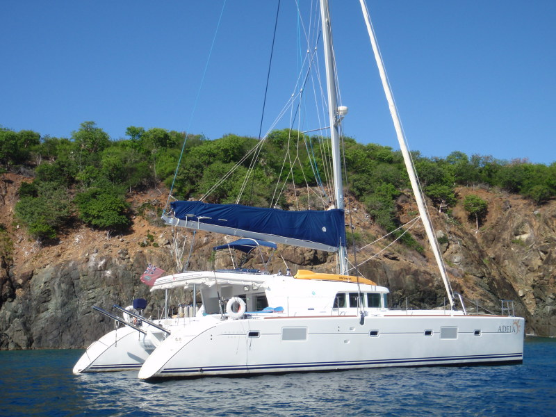 Catamarans ADEIA, Manufacturer: LAGOON, Model Year: 2007, Length: 50ft, Model: Lagoon 500, Condition: Used, Listing Status: Under Contract, Price: USD 682000