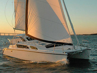 Catamarans SOUTHERN BREEZE, Manufacturer: GEMINI CATAMARANS, Model Year: 2002, Length: 34ft, Model: Gemini 105Mc, Condition: Used, Listing Status: SOLD, Price: USD 109900