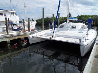 Catamarans ANDIAMO, Manufacturer: WILDCAT, Model Year: 2002, Length: 35ft, Model: Wildcat 35, Condition: Used, Listing Status: SOLD, Price: USD 140000