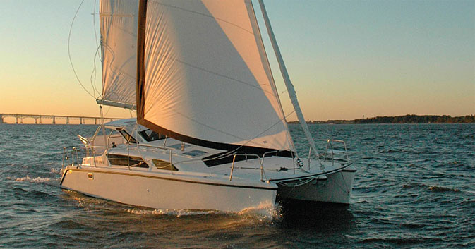 New Sail Catamarans for Sale 2011 Gemini 105Mc
