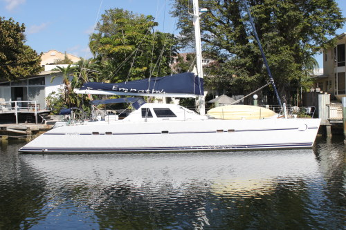 Catamarans EMPATHY, Manufacturer: LAGOON, Model Year: 1989, Length: 55ft, Model: Lagoon 55, Condition: Used, Listing Status: SOLD, Price: USD 310000