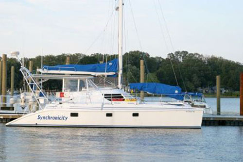 Catamaran for Sale Manta 42 MK II  in St. Augustine Florida (FL)  SYNCHRONICITY  Preowned Sail