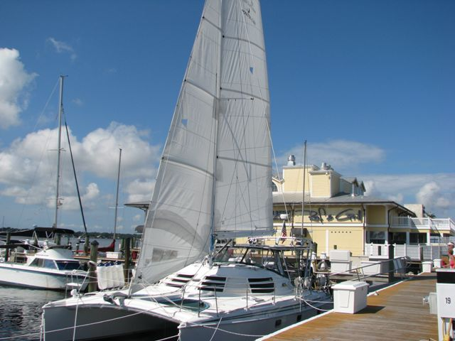 Preowned Sail Catamarans for Sale 2003 Manta 42