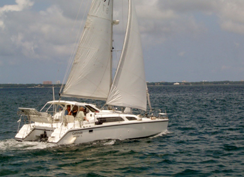 Used Sail Catamaran for Sale 2004 Gemini 105Mc