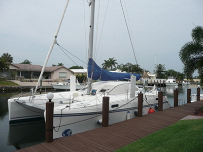 SOLD Catana 411  in Fort Lauderdale Florida (FL)  GRACIE  Preowned Sail