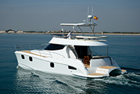 Preowned Power Catamarans for Sale 2014 Fisher 435