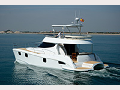 New Power Catamaran for Sale  Fisher 435