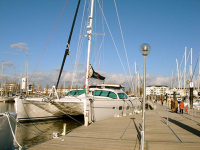 Catamarans COGOA, Manufacturer: ALLIAURA MARINE, Model Year: 2006, Length: 59ft, Model: Privilege 585, Condition: USED, Listing Status: SOLD, Price: EURO 790000