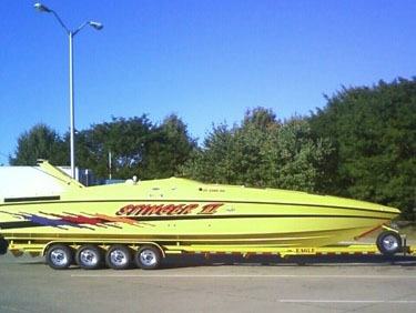 Used Power Monohull for Sale 1997 Baja 420