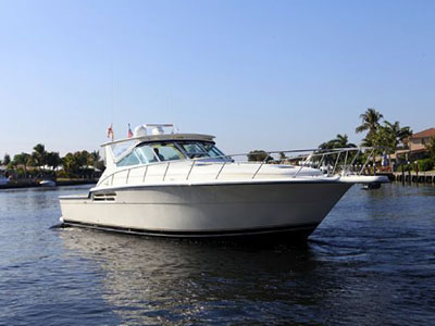 SOLD Tiara 4300 Open  in Pompano Beach Florida (FL)  GRAND TIME Thumbnail for Listing Preowned Power