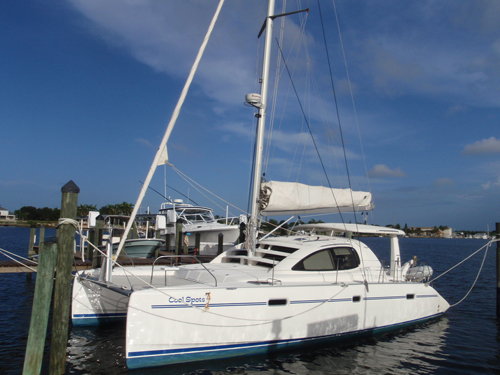Used Sail Catamaran for Sale 2009 Leopard 40