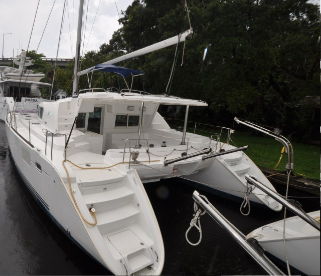 Used Sail Catamaran for Sale 2008 Lagoon 440