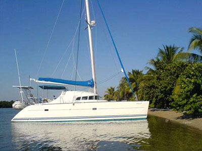 Catamarans FANTASIA IV, Manufacturer: LAGOON, Model Year: 2000, Length: 41ft, Model: Lagoon 410, Condition: Used, Listing Status: SOLD, Price: USD 220000