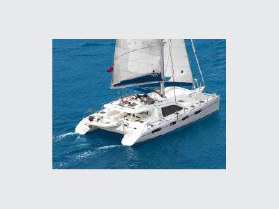Used Sail Catamaran for Sale 2002 Leopard 62