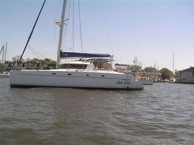 Preowned Sail Catamarans for Sale 2006 Belize 43