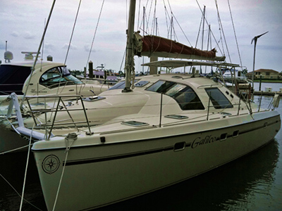 SOLD Privilege 37  in Fort Lauderdale Florida (FL)  GALILEO  Preowned Sail