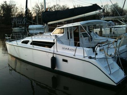 Preowned Sail Catamarans for Sale 2011 Gemini 105Mc