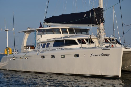 Preowned Sail Catamarans for Sale 1994 Marquises 56