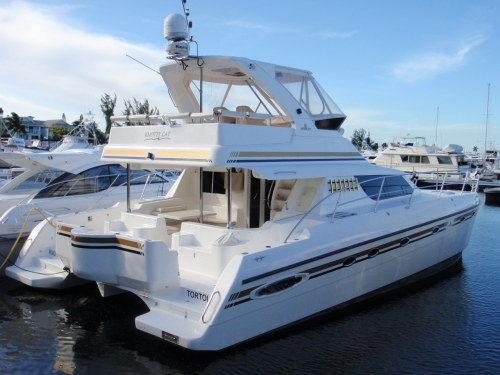 Catamarans KNOTTY CAT, Manufacturer: AFRICAT MARINE, Model Year: 2007, Length: 42ft, Model: Africat 420, Condition: Used, Listing Status: SOLD, Price: USD 549000