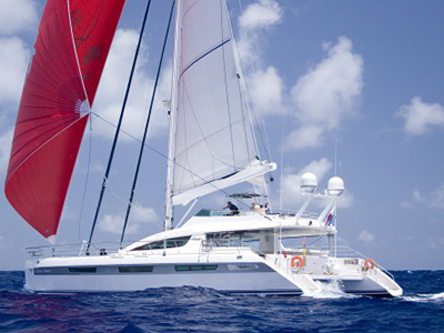 Catamarans CLARA MARIS, Manufacturer: ALLIAURA MARINE, Model Year: 2008, Length: 74ft, Model: Privilege 745, Condition: Used, Listing Status: SOLD, Price: EURO 2400000