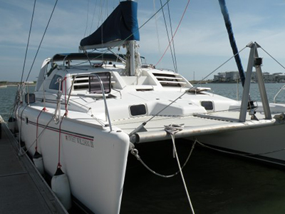 Catamarans SWEET WILLIAM III, Manufacturer: ROBERTSON & CAINE, Model Year: 2001, Length: 37ft, Model: Moorings 3800, Condition: Used, Listing Status: SOLD, Price: USD 185000