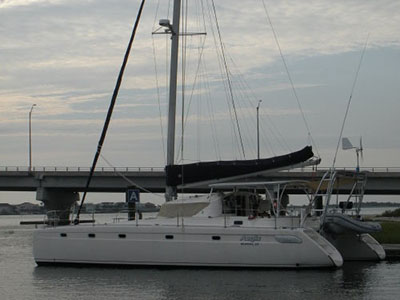 Catamarans AEGIS, Manufacturer: FOUNTAINE PAJOT , Model Year: 1996, Length: 42ft, Model: Venezia 42, Condition: Used, Listing Status: SOLD, Price: USD 239900
