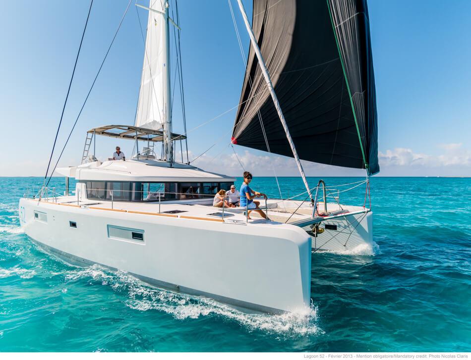 New Sail Catamaran for Sale  Lagoon 52 F