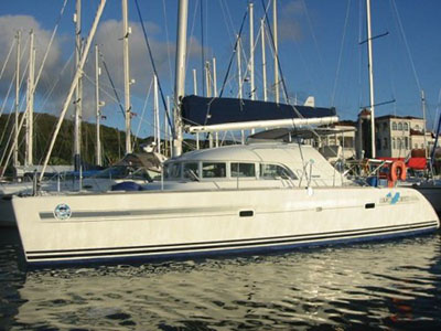 SOLD Lagoon 380  in St.Francois Guadeloupe YANN 1 Thumbnail for Listing Preowned Sail