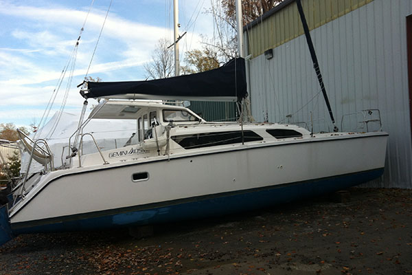 Preowned Sail Catamarans for Sale 2012 Gemini 105Mc