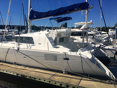 Catamaran for Sale Lagoon 440  in Fort Lauderdale Florida (FL)  QUIDAM Thumbnail for Listing Preowned Sail